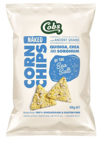 Sea Salt Corn Chips [130g]-Taste Singapore