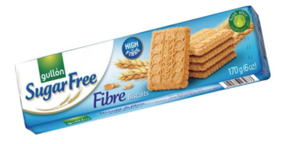 Sugar Free Fibre Biscuits [170g]
