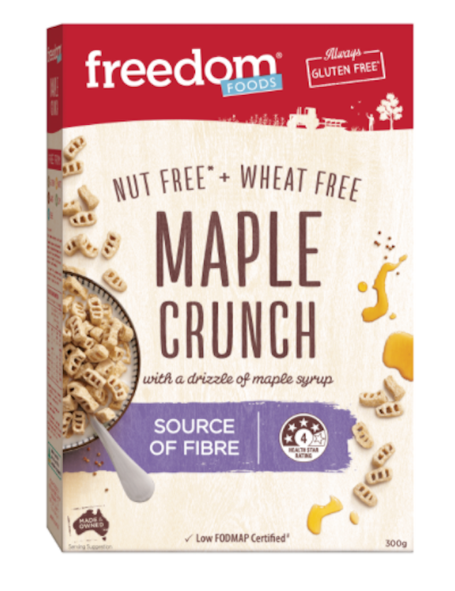 GF Maple Crunch Cereal [300g]-Taste Singapore