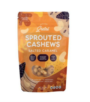 Sprouted Cashews Salted Caramel [70g]-Taste Singapore