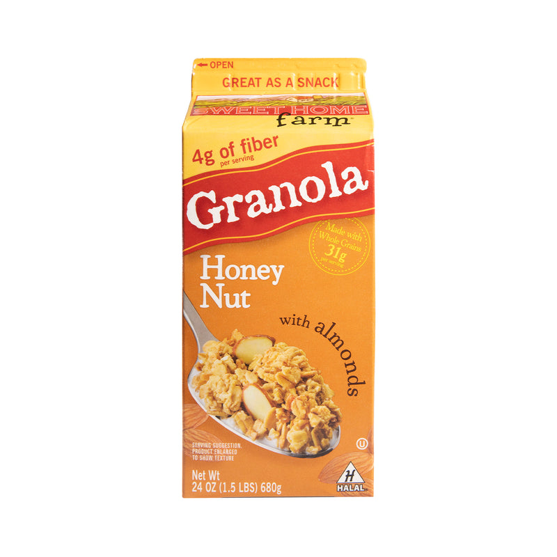 Honey Nut w/Almonds Granola [682g]
