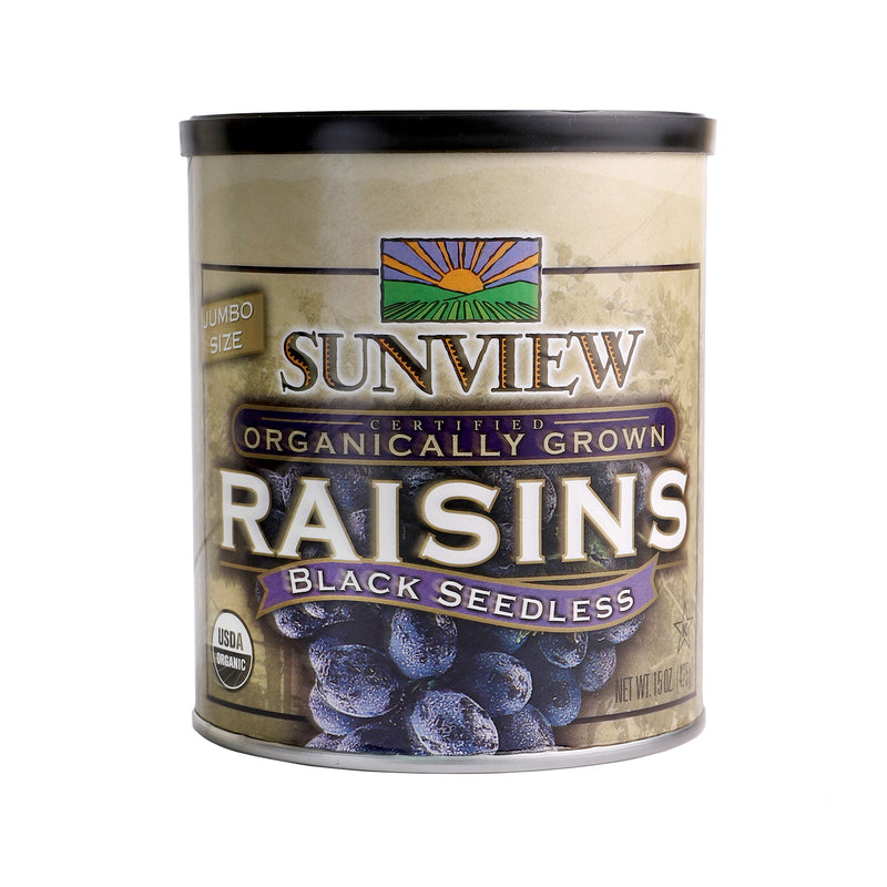 Sunview Organic Black Raisin [425g]