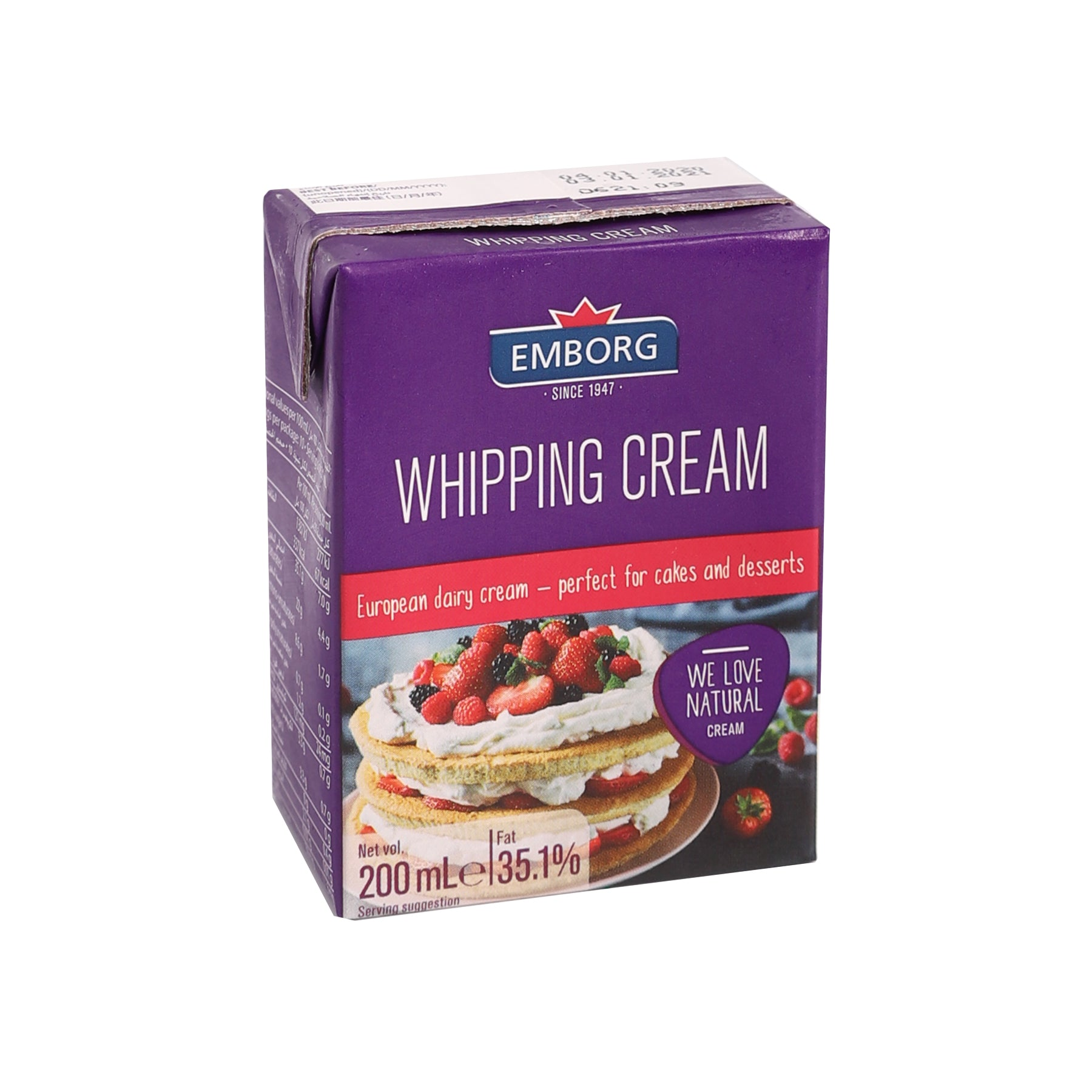 Whipping Cream [200ml]-Taste Singapore