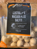Salted Macadamia Nuts [100g]