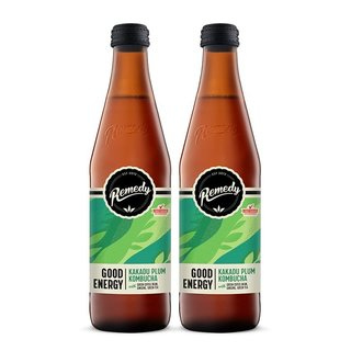 Kombucha Good Energy Kakadu Plum [330ml] x 2 Btls-Taste Singapore