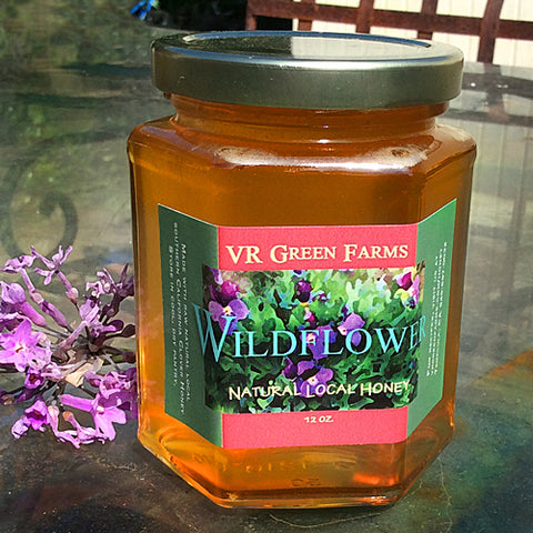 VRGF Natural Wildflower Honey