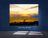Autumn Shade Wall Print 60x40