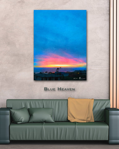 Blue Heaven Wall Print 40x60