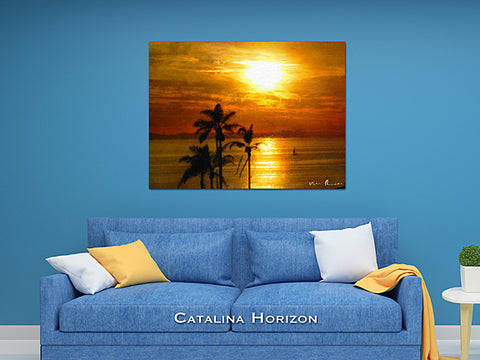 Catalina Horizon Wall Print 60x40