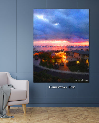 Christmas Eve Wall Print 60x40