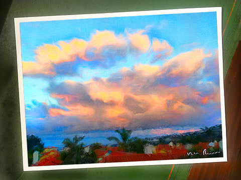 Cloud Bank Archival Print