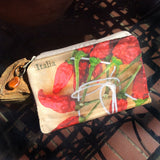 Italian Red Pepper Cosmetics Bag