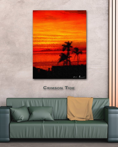 Crimson Tide Wall Print 40x60