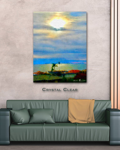 Crystal Clear Wall Print 40x60