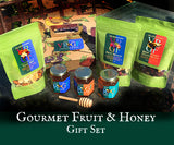 Gourmet Dried Fruit and Local Honey Gift Set