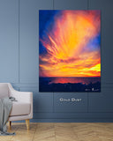 Gold Dust Wall Print 40x60