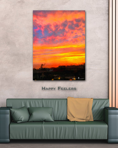 Happy Feelers Wall Print 40x60
