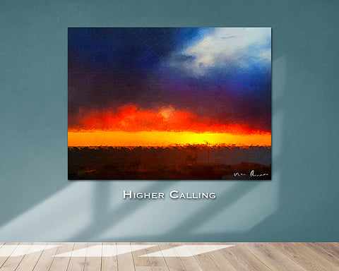 Higher Calling Wall Print 60x40