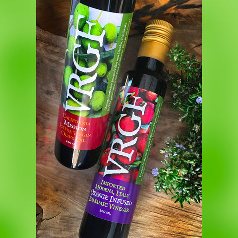 VRGF California EV Olive Oil & Balsamic Vinegar Set