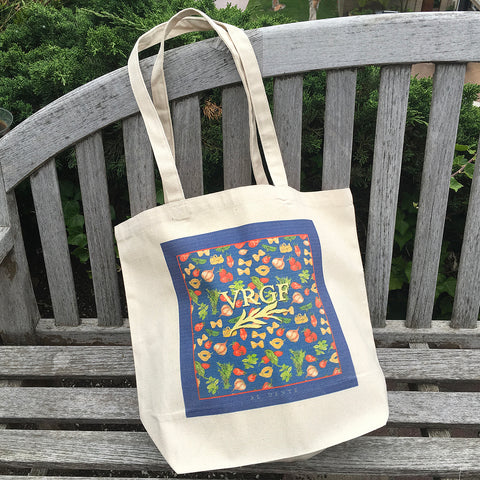 VRGF Pasta Market Canvas Bag