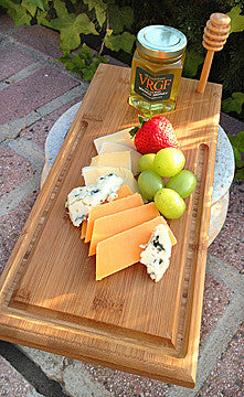 Fruit or Dessert Bamboo Serving Board. Reg. $28 NOW ON SALE!