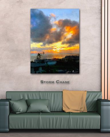 Storm Chase Wall Print 40x60
