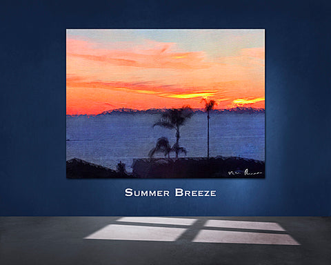 Summer Breeze Wall Print 60x40