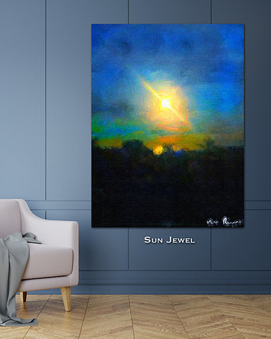 Sun Jewel Wall Print 40x60