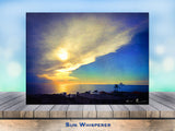 Sun Whisperer Wrapped Canvas Print