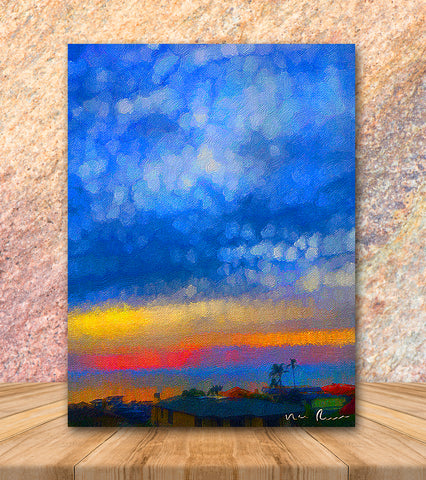 Twilight Wrapped Canvas Print