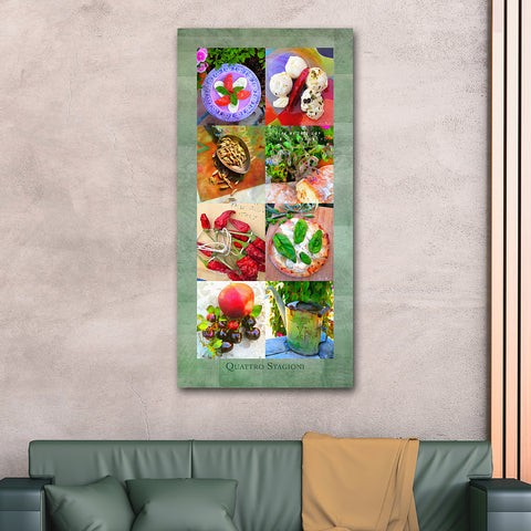 Four Seasons Wall Print 24 X 60