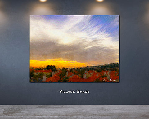 Village Shade Wall Print 60x40