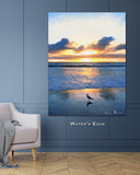 Water's Edge Wall Print 40x60
