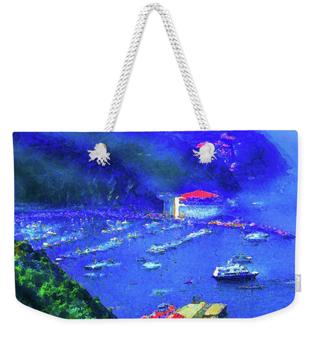 Avalon Blues - Weekender Tote Bag