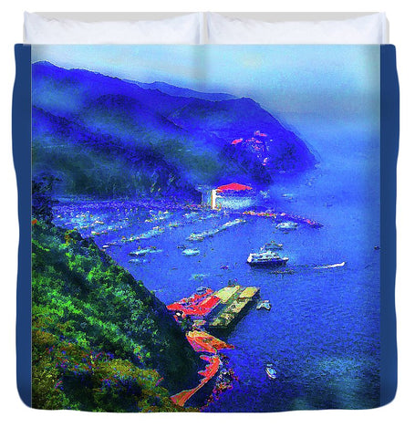 Avalon Blues - Duvet Cover