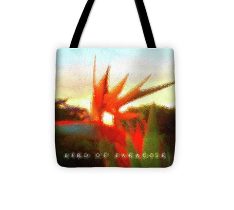 Bird Of Paradise - Tote Bag
