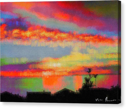 Brushstrokes - Canvas Print