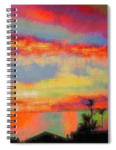 Brushstrokes - Spiral Notebook