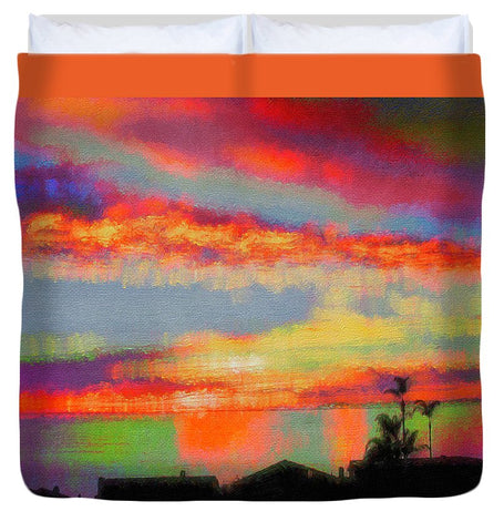 Brushstrokes - Duvet Cover
