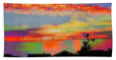 Brushstrokes - Beach Towel