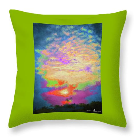 Bubblegum - Throw Pillow
