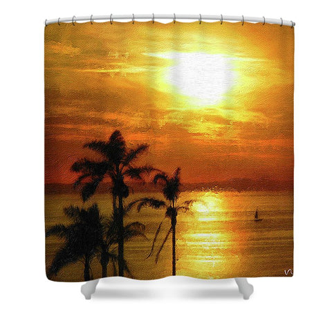 Catalina Horizon - Shower Curtain