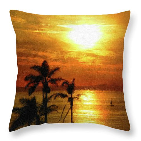 Catalina Horizon - Throw Pillow