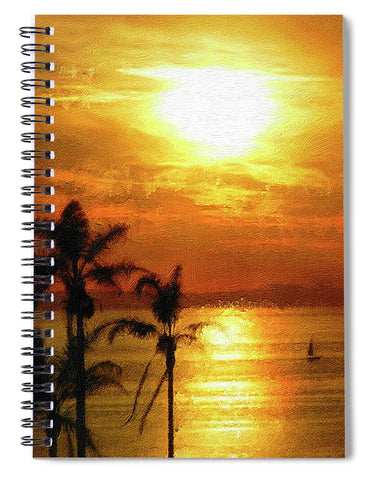 Catalina Horizon - Spiral Notebook