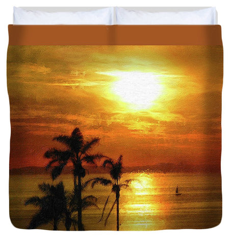 Catalina Horizon - Duvet Cover