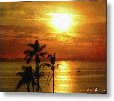 Catalina Horizon - Metal Print