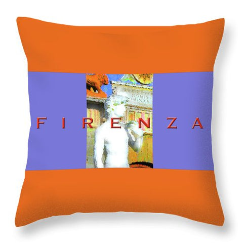 Florence - Throw Pillow