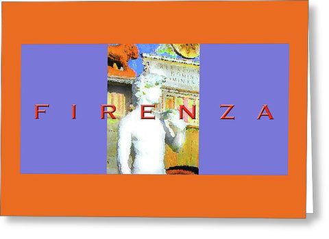 Florence - Greeting Card