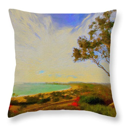 Harbor Town - Throw Pillow
