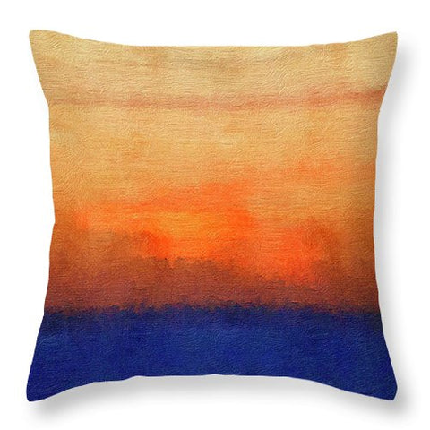 Harvest Setting - Throw Pillow